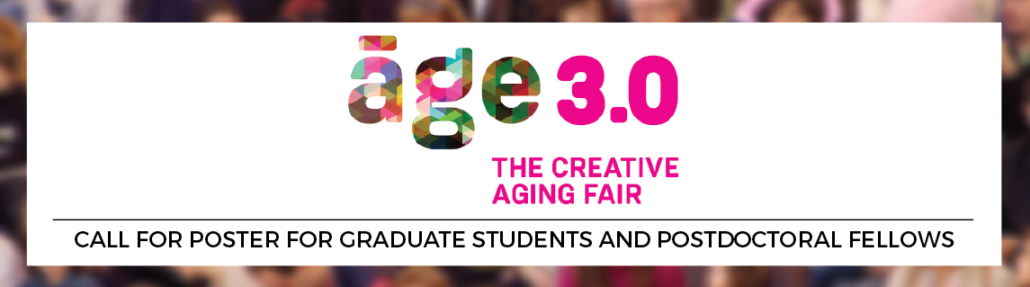 Age 3.0: Call for Poster for Graduate Students and Postdoctoral Fellows